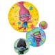 """Folijas balons """"Troļļi trio"""", izmērs 55 x 71 cm,"""