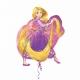 RAPUNCEL  superfigūra balons no folija   66 x 78 cm