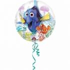 """Balons balonā """"Meklējot Doriju"""",  pvc caurspīdigs hēlija balons, izmērs 60 cm"""