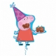 """Folijas hēlija balons """"Cūciņa pepa"""" izmērs, 76 x 83 см,"""