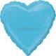 Karību jūra sirds  folijas balons  izmērs 43 cm