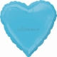 Карибское море  Сердце  из фольги  43 см