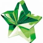 Грузик для шариков - звезда , 170 г. зеленый