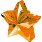 Грузик для шариков - звезда , 170 г. оранжевый