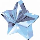 Zvaigžņu forma balonu svariņš, zils