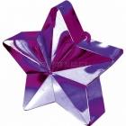 Zvaigžņu forma balonu svariņš, violets