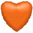Апельсин  Сердце  из фольги  43см