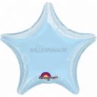 Звезда Синий шар  из фольги  43см