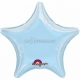 Zvaigzne zils folijas balons 43 cm