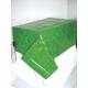 Скатерть зеленый газон/футбольное поле, клеёнка, размер 137 см х 274 см