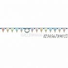 Буквенная гирлянда Яркий день рождения 320 x 25.4 см
