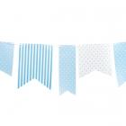 Karodziņu vītne, 3.60 m zila
