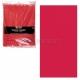 Юбка для декорироваения стола  пластиковая  красная