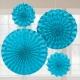 Papīra dekorācija zilā 2x20.3 cm,30.4 cm,40.6 cm