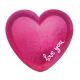 6 Heart shasped plates Everyday love