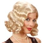Vētrains 20s parūka blondīne